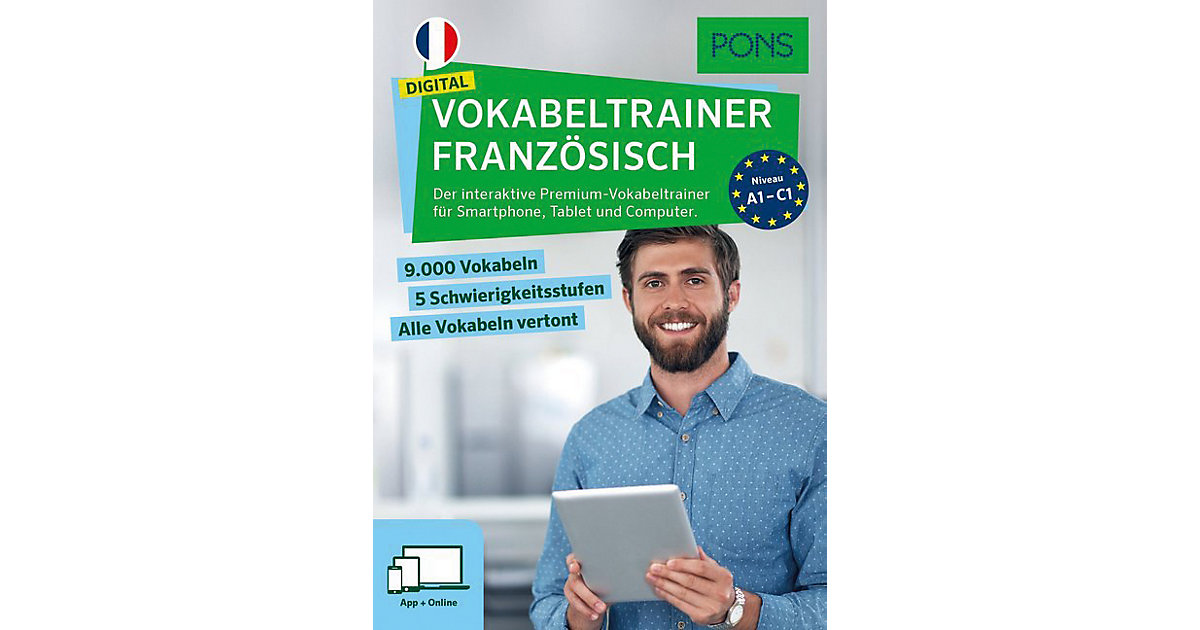 PONS Digital Vokabeltrainer Französisch, Code i...