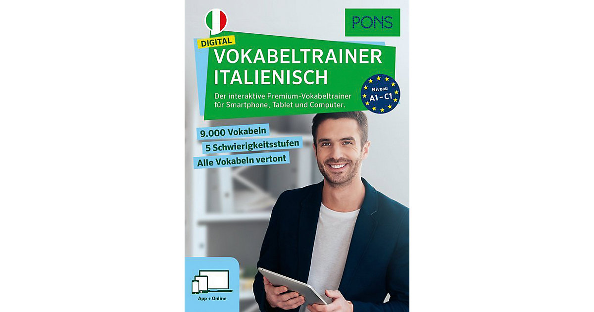 PONS Digital Vokabeltrainer Italienisch, Code i...