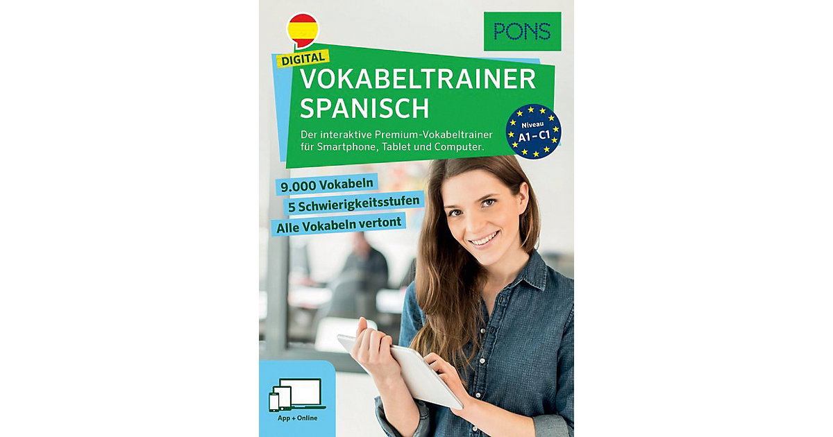 PONS Digital Vokabeltrainer Spanisch, Code in a...