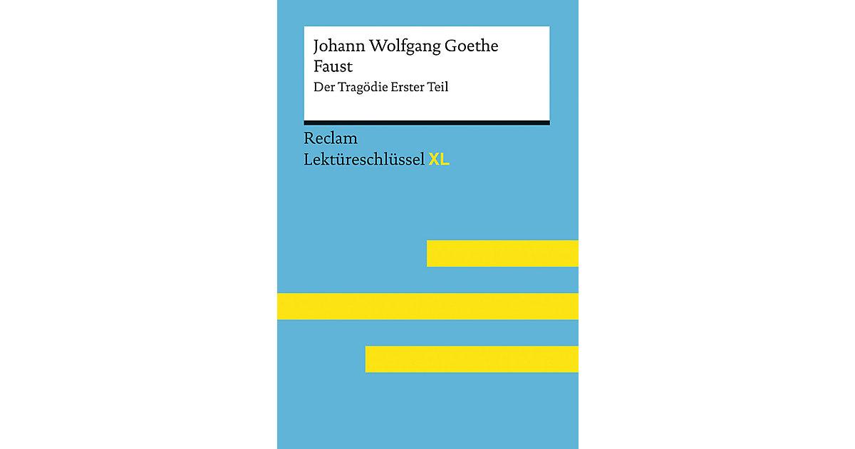 Buch - Johann Wolfgang Goethe: Faust I