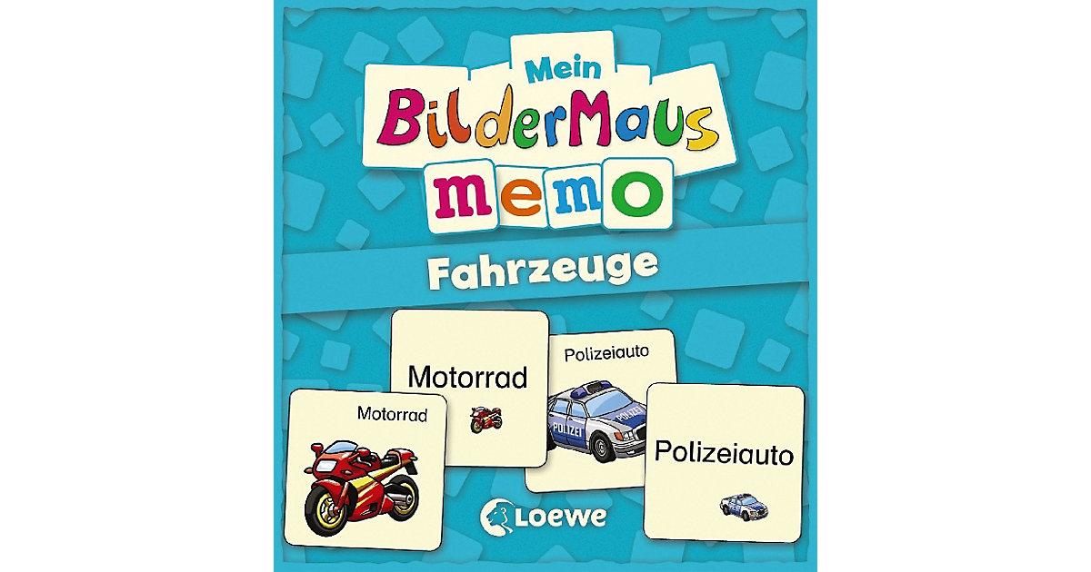 Mein Bildermaus-Memo: Fahrzeuge (Kinderspiel)