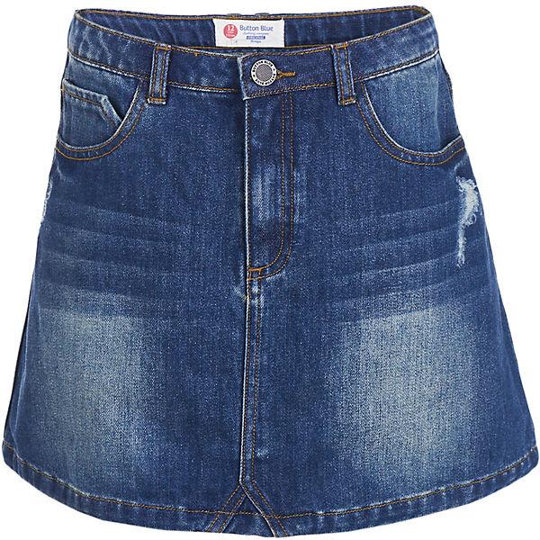 Джинсовая юбка Button Blue для девочки