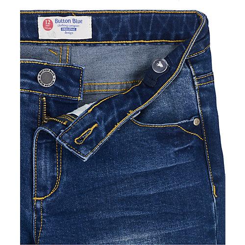 Джинсы Button Blue - темно-синий от Button Blue