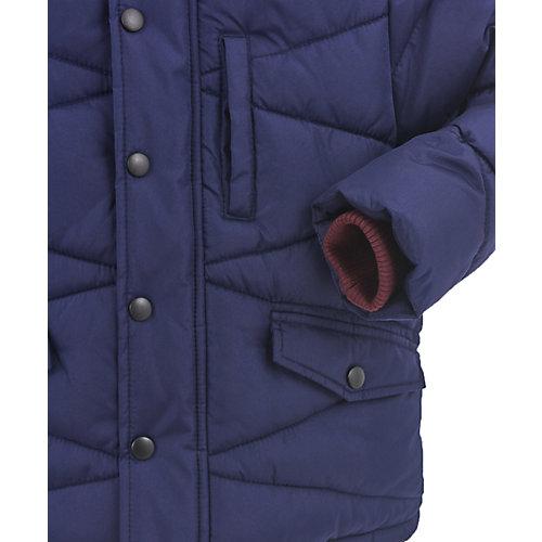 Утепленная куртка Button Blue - темно-синий от Button Blue