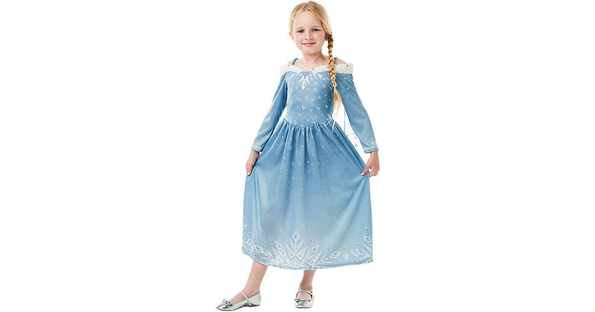 Die Eiskönigin Elsa Classic hellblau Gr. 122/128 Mädchen Kinder