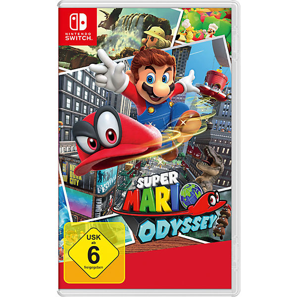 Nintendo Switch Super Mario Odyssey Super Mario