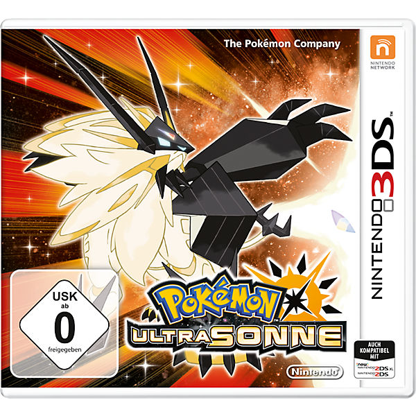 3DS Pokémon Ultrasonne
