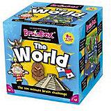 """Настольная игра BrainBox """"Сундучок знаний: Мир"""""""