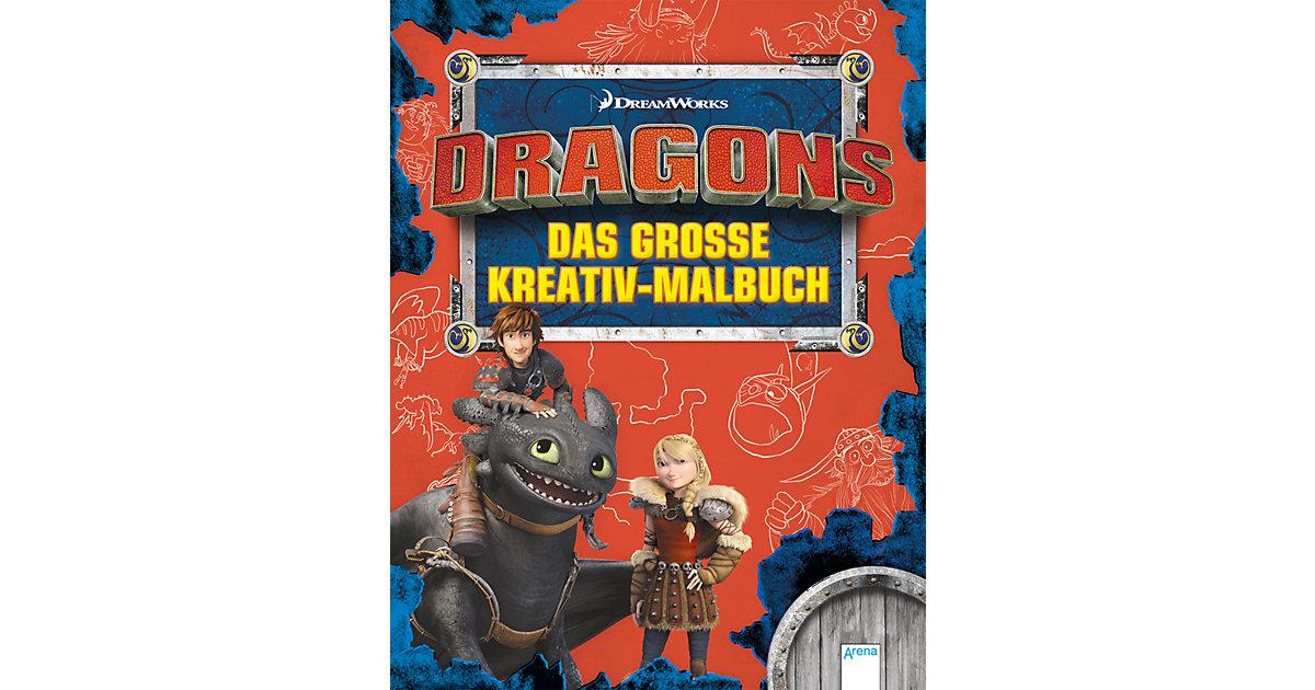 Dragons: Das große Kreativmalbuch