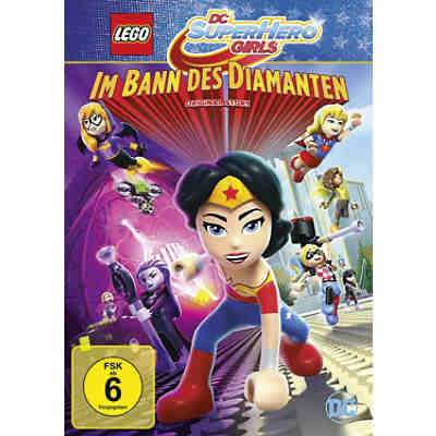 DVD LEGO DC Super Hero Girls - Im Bann des Diamanten