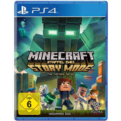 PS4 Minecraft Story Mode - Season 2 - Season Pass Disc