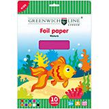 Фольга цветная А4 Greenwich Line 10 листов 10 цветов