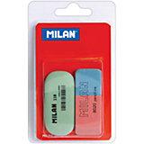 """Набор ластиков """"8020"""" и """"118"""" 2 шт Milan"""