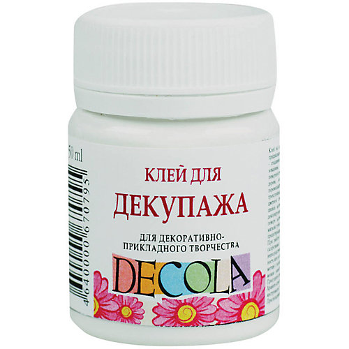 Клей для декупажа 50мл Decola от Невская палитра