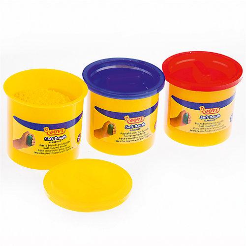 Тесто для лепки 3 цвета*110г JOVI от JOVI