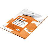 Бумага цветная intensive А4 50 листов OfficeSpace, оранжевый