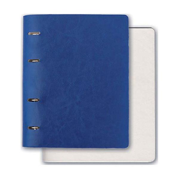 Тетрадь А5+ Феникс+, синий + белый