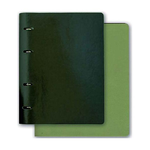 Тетрадь А5+ Феникс+, зеленый + салатовый