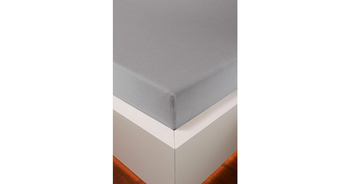 bellana exclusiv · Edel-Jersey Spannbettlaken Gr. 180-200 x 200