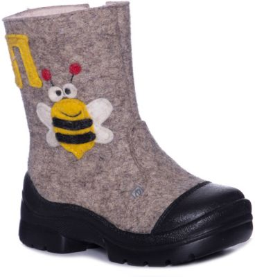 Валенки Пчелка Филипок для мальчика