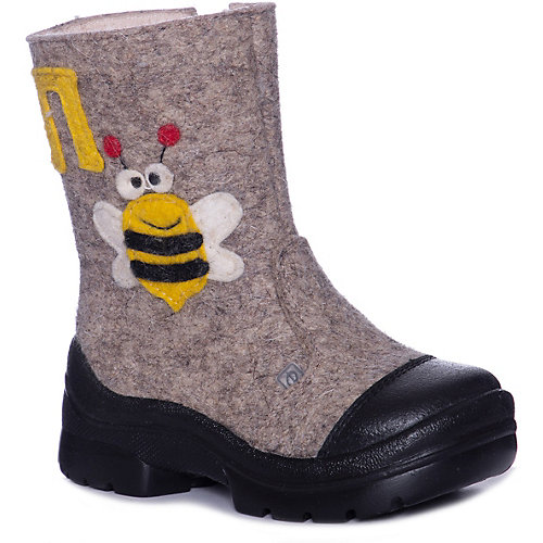 Валенки Филипок Пчелка - бежевый от Филипок
