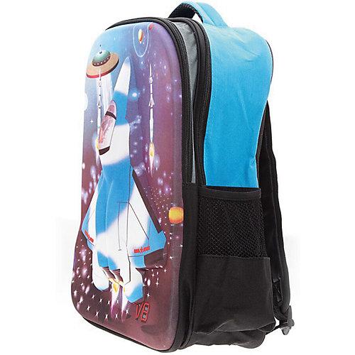 """Рюкзак """"Самолет"""", цвет черный с синим от 3D Bags"""