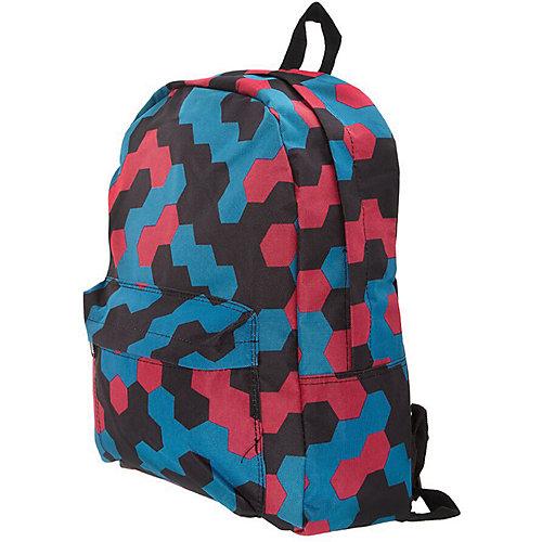 """Рюкзак """"Мозаика"""" с наушниками, цвет мульти от 3D Bags"""