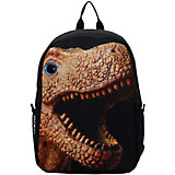 """Рюкзак """"Dino with 3D eye"""", цвет черный"""