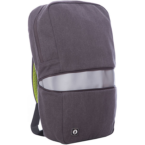 Рюкзак REFLECTO со встроенным светоотражающим отделением, цвет серый