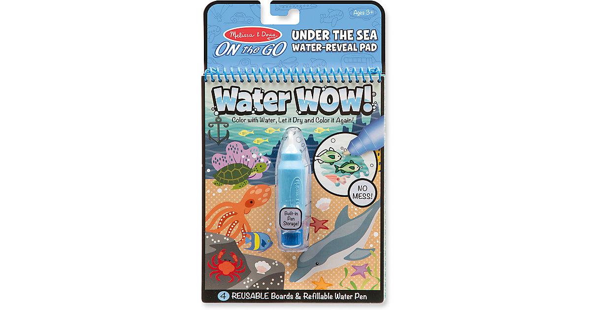 Buch - Water Wow! Malblock - Unter Wasser