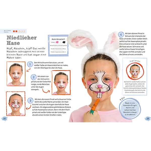 Kinderschminken leicht gemacht, Karen Harvey 8MZIhW