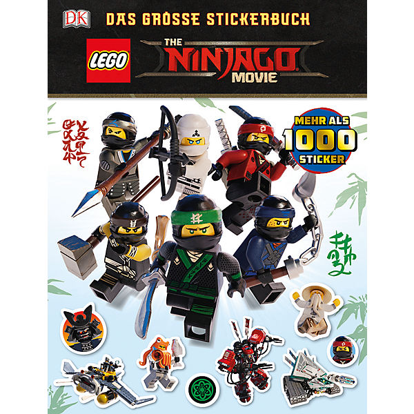 THE LEGO NINJAGO MOVIE: Das große Stickerbuch