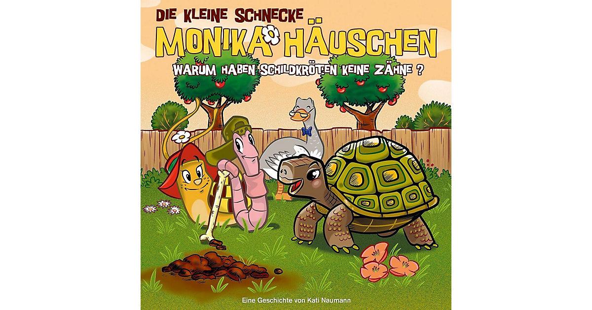 CD Die Kleine Schnecke Monika Häuschen 47 - Warum haben Schildkröten keine Zähne? Hörbuch