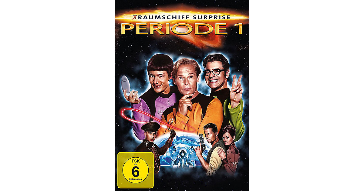 DVD (T)Raumschiff Surprise Periode 1 Hörbuch