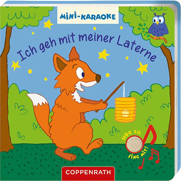 Mini-Karaoke: Ich geh mit meiner Laterne, Soundbuch mit Liedern und Melodien, Coppenrath Verlag