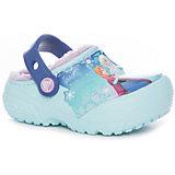 Сабо CrocsFunLab Lined Frozen Clog для девочки