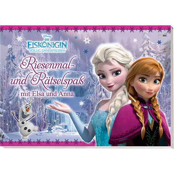 disney die eisk nigin riesenmal und r tselspa mit elsa und anna disney die eisk nigin mytoys. Black Bedroom Furniture Sets. Home Design Ideas