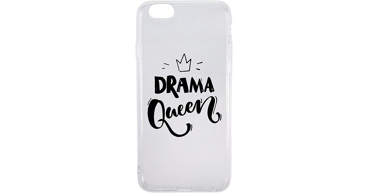 """Handyhülle """"Drama Queen"""" weiß Gr. 6"""