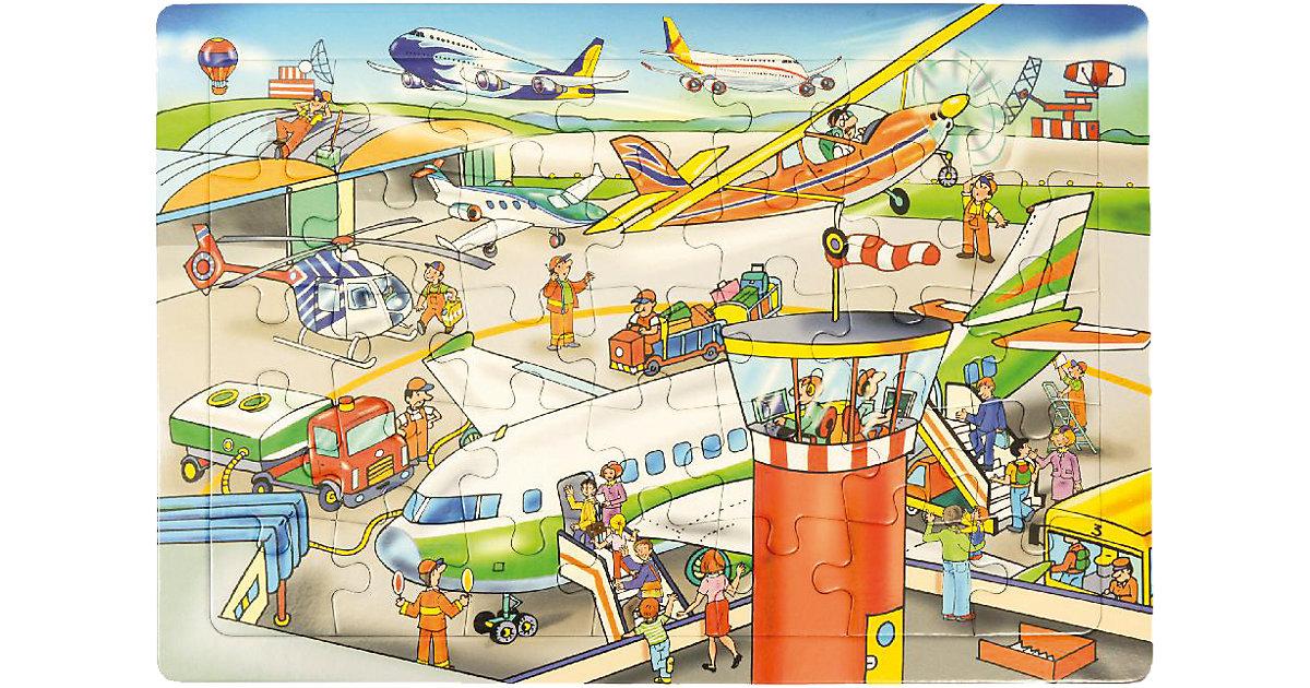 Rahmenpuzzle Flughafen, 35 Teile