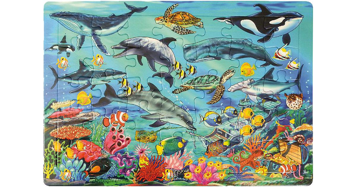 Rahmenpuzzle Meer, 35 Teile