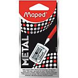 """Точилка Maped """"Satellite"""", металлическая, 1 отверстие"""