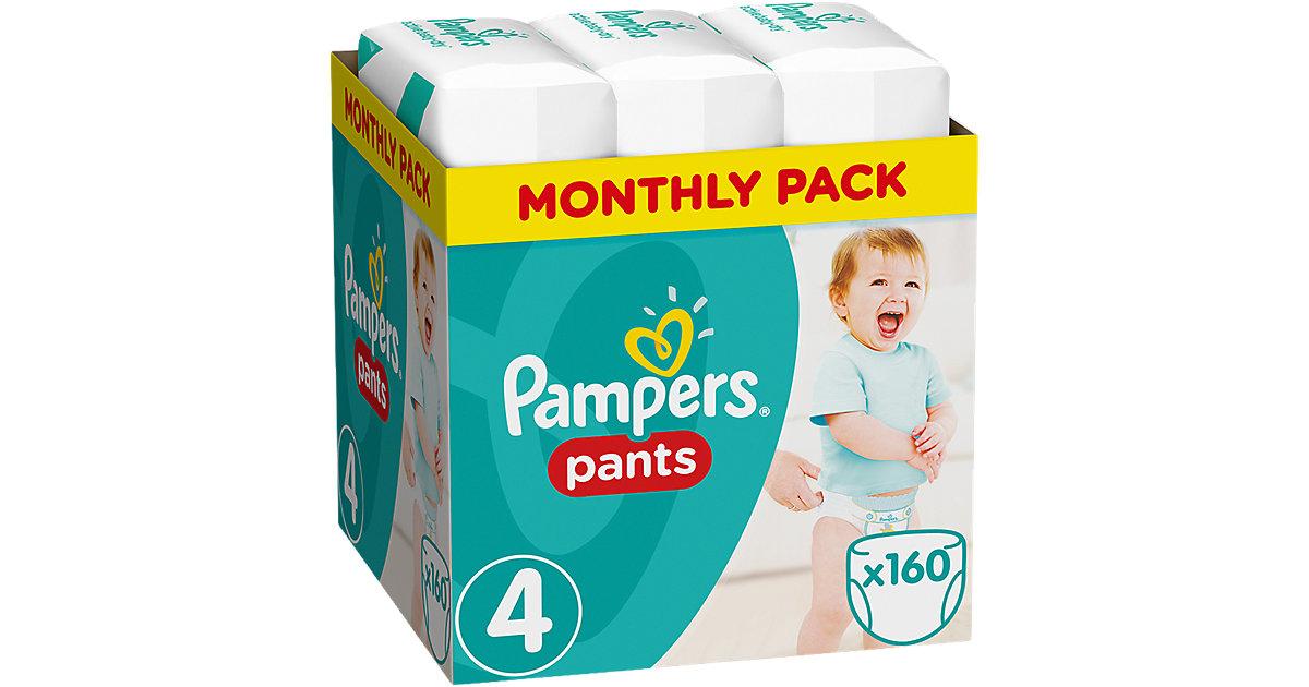 1x160 Stück Pampers Baby Dry Pants Gr.4 Maxi 8-14kg MonatsBox Gr. 8-15 kg
