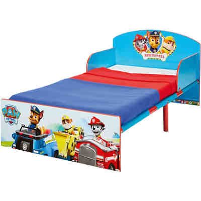 kinderbett paw patrol blau 70 x 140 cm paw patrol mytoys. Black Bedroom Furniture Sets. Home Design Ideas