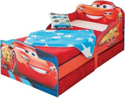 Kinderbett Cars 3, mit 2 Schubladen, 70 x 140 cm, Disney Cars
