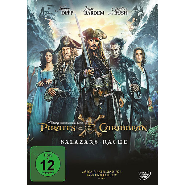 DVD Pirates of the Caribbean: Salazars Rache