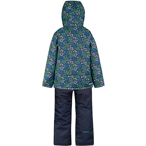 Комплект Zingaro by Gusti: куртка, полукомбинезон - синий/зеленый от Zingaro by Gusti
