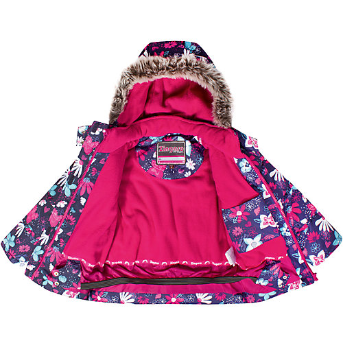 Комплект Zingaro by Gusti: куртка, полукомбинезон - фиолетово-розовый от Zingaro by Gusti