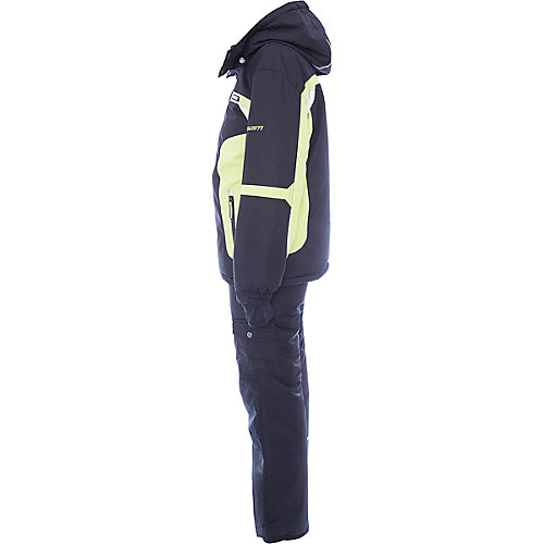 Комплект Gusti: куртка и полукомбинезон - темно-серый от Gusti