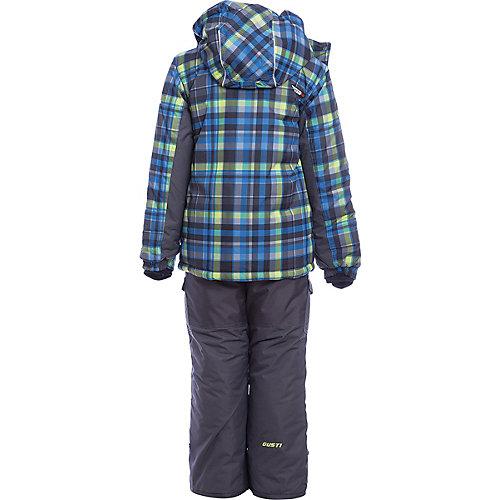 Комплект Gusti: куртка и полукомбинезон - синий/зеленый от Gusti