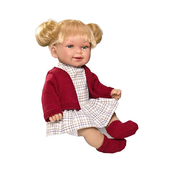 Кукла Vestida de Azul Кина, блондинка с хвостиками, Осень